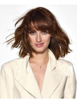 Perruque Attirante Ondulée Capless Cheveux Naturels