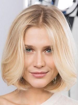 Perruque Ondulée Lace Front Cheveux Naturels Aimable