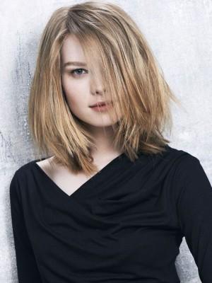 Perruque Splendide Lisse Lace Front Cheveux Naturels