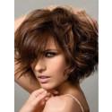 Perruque Enivrante Ondulée Cheveux Humains Capless