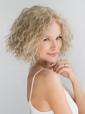 Perruque Vivable Ondulée Cheveux Naturels Lace Front