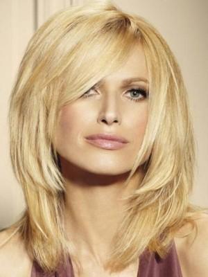 Perruque Multicouche Enviable De Cheveux Naturels
