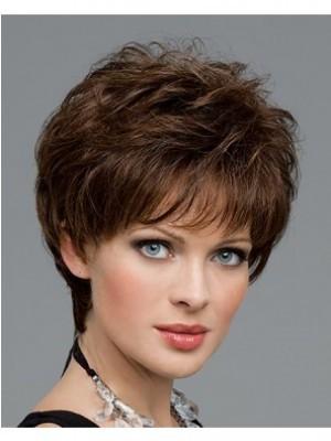 Perruque Enviable Ondulée Capless Cheveux Naturels