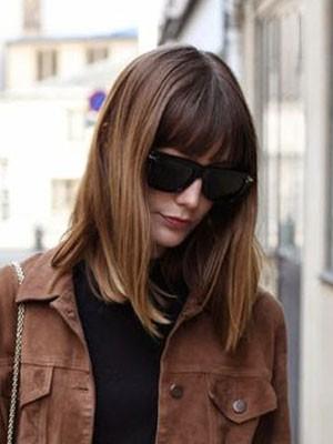 Perruque Acceptable Lisse Capless Cheveux Naturels